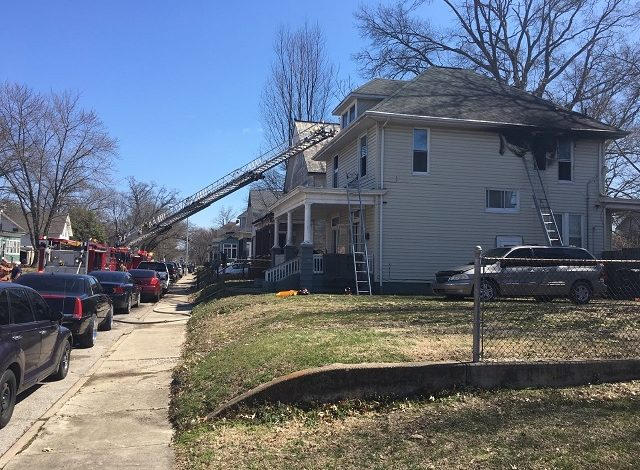 Crews Respond to House Fire on Jefferson Drive