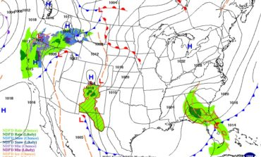 Sunshine, Southerly Winds and Warmer Weather
