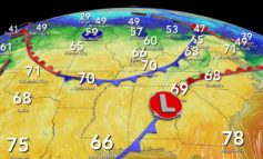 Basking in the 70s, Possible Severe Storms Thursday