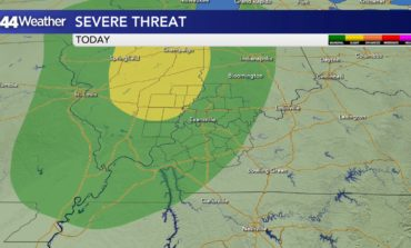 Soaring Into the 80s, Severe Storm Threat This Evening