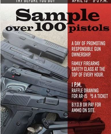 """Try Before You Buy"" Firearms Event"