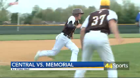 HS BASE: Central Outlasts Memorial