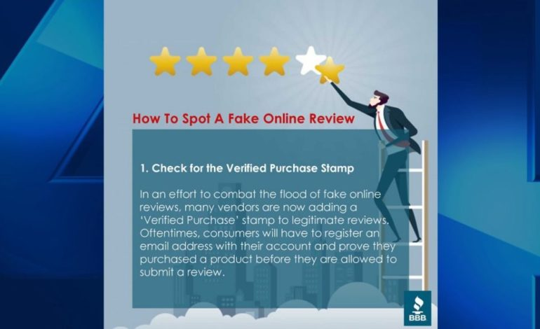 Scam Central: Tips to Spotting Fake Online Reviews