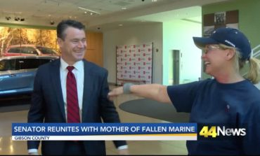 Senator Young Reunites With Mother of Fallen Marine