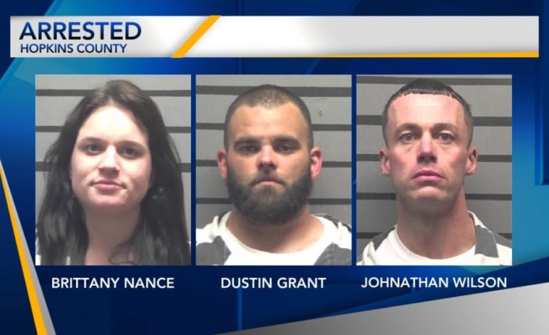Drug Trafficking Bust Leads to Arrest of Three People