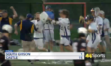 HS LAX: Castle Tops South Gibson; Coach Clark Gets 100th Win