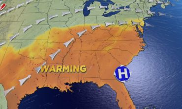 Warmest Day in 6 Months? Shower & Storm Threat