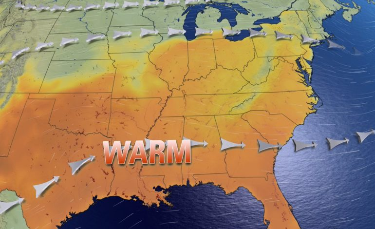 Trending Warmer, Unsettled Midweek With Severe Storm Threat