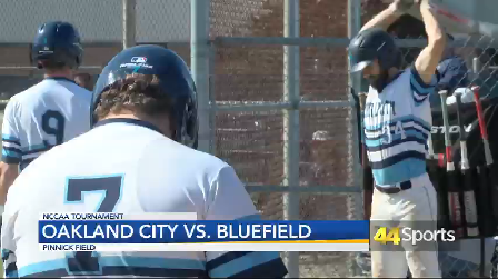 College BASE: Oakland City Falls to Bluefield