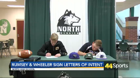 North's Wheeler & Rumsey Sign Letters of Intent