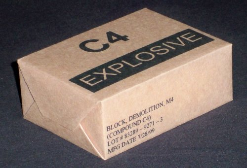 C4 Military Explosives Found in Corydon, Kentucky