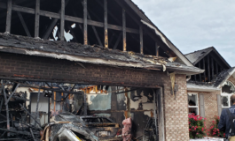 Early Morning Garage Fire Destroys Home in Warrick County