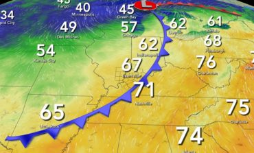 Comfortable Temperatures for Now but Major Warm Up Later