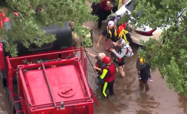 People Rescued From Oklahoma Flooding