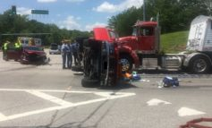 Three People Sent to Hospital After Multiple Vehicle Crash