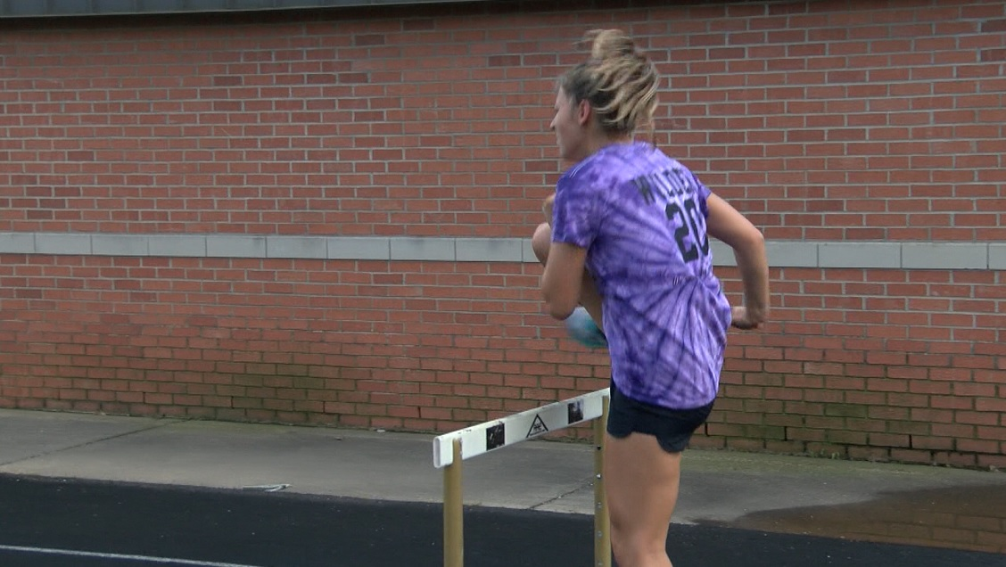 Photo of Boonville's Wilder Prepares for State Track Meet
