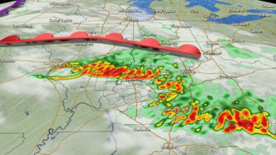 Photo of Severe Threat This Weekend as Heat & Humidity Move In