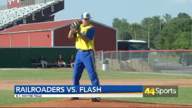 Photo of OVL: Flash Split Doubleheader Against Railroaders
