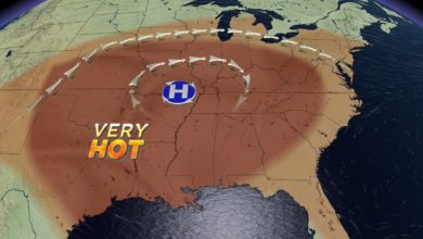Photo of Sweltering Heat & Humidity Through the Weekend, Relief Next Week