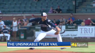 Photo of Unveiling Otters Pitcher Tyler Vail