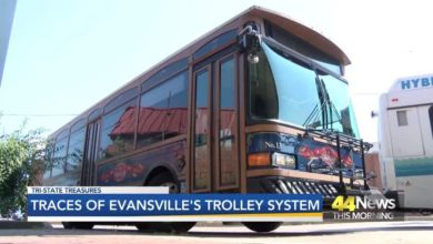Photo of Traces of Evansville's Trolley System
