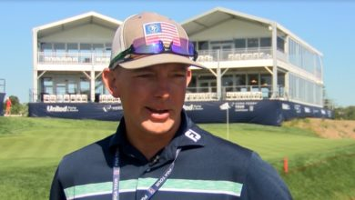 Photo of Professional Caddie Competes in Hometown