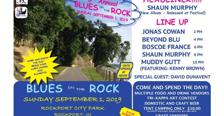 Camp Out and Sing the Blues in Rockport This Weekend