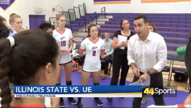 Photo of COLLEGE VB: UE Edges Illinois St.