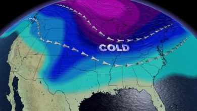 Photo of Arctic Airmasses Move In