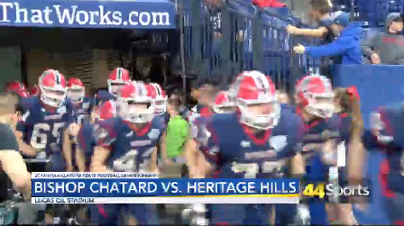 Photo of HS FB: Heritage Hills Falls in Class 3A State Championship