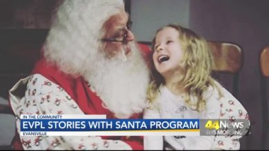 Photo of EVPL Getting Ready for Stories With Santa