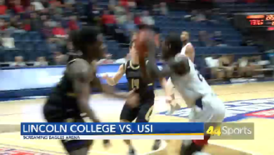Photo of College MBB: USI Defeats Lincoln College: