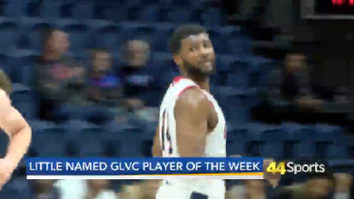 Photo of USI's Little Named GLVC POTW