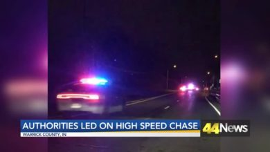 Photo of Authorities Led on High Speed Chase Saturday Night