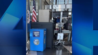 Photo of Illinois Airports Add 'Cannabis Amnesty Boxes'