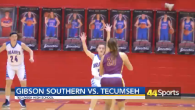 Photo of HS GBB: #4 Gibson Southern Tops #7 Tecumseh