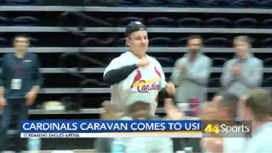 Photo of Cardinals Caravan Visits USI