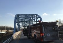 Photo of Pigeon Creek Bridge Could Close for Several Months Due Extensive Damage