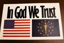 "Photo of ""In God We Trust"" Required in Hoosier Schools Under Proposed Measure"
