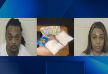 Photo of Two Arrested in ISP Traffic Stop, 2 Pounds of Suspected Meth Seized