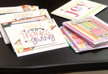 Photo of Group Makes Cards for Soldiers Overseas