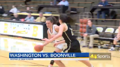 Photo of HS GBB: Washington Beats Boonville: