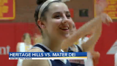 Photo of HS GBB: Heritage Hills Beats Mater Dei on the Road