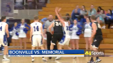 Photo of HS BB: Boonville Tops Memorial