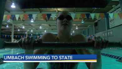 Photo of Reitz' Umbach Swimming to State
