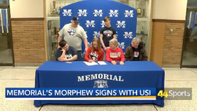 Photo of Memorial's Morphew Signs With USI