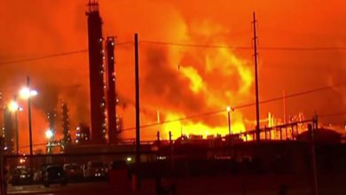 Photo of ExxonMobil Baton Rouge Refinery Erupts Into Flames