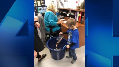 Photo of Hager Preschool Holds Penny Drive to Raise Funds for Local Men's Shelter