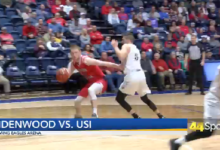 Photo of College MBB: USI Soars Past Lindenwood