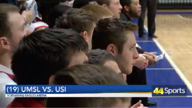 Photo of College MBB & WBB: USI Defeats UMSL: